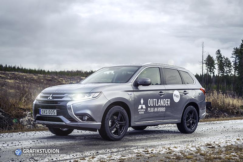 Mitsubishi Outlander första provkörningen