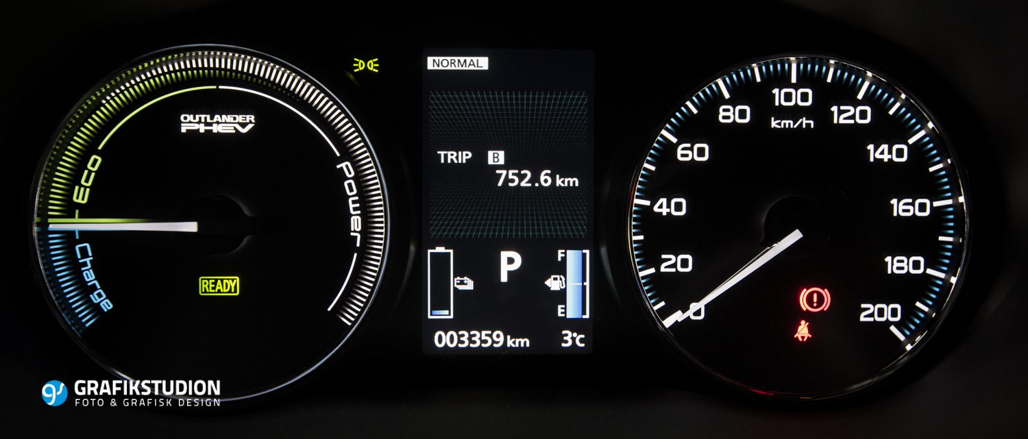 Fuel consumption Outlander PHEV